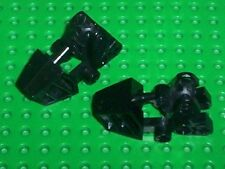 LEGO BIONICLE - Foot w/ Ball Joint Socket 3x6x2 1/3. BLACK x2 (32475) BN142