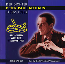 Peter Paul Althaus: Ansichten aus der Traumstadt. Jan Burdinski, CD