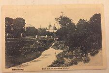 RENDSBURG • Blick auf Altstädter Kirche • 15.12.1919 gelaufen nach Heide