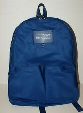 Marc By Marc Jacobs Womens Preppy Legend Backpack Bag True Blue Nylon NWT