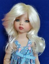 Monique Melissa Wig 6/7 for BJD Kish Bethany Ellowyne Iplehouse KID YoSD  Blonde