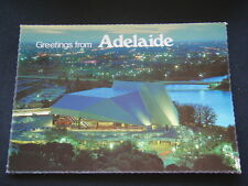 GREETINGS FROM ADELAIDE FESTIVAL THEATRE BY NIGHT 1996 POSTCARD