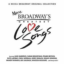 1 CENT CD More Broadway's Greatest Love Songs - V/A ANDREWS/BALL/BRIGHTMAN