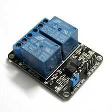 2-Channel 12V Relay Module With Optocoupler For Arduino DSP AVR PIC ARM