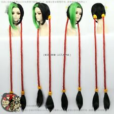 League of legendes Fire Cracker Jinx Cosplay Wig Perruque
