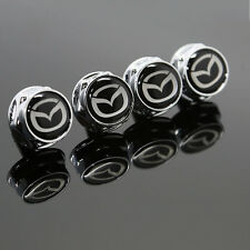 For Mazda All Model Car Logo License Plate Frame Screw Bolts Cap Cover