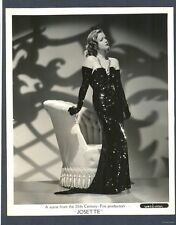 SULTRY SIMONE SIMON 1938 PHOTO - CAT PEOPLE HORROR STAR - NEAR MINT CONDITION
