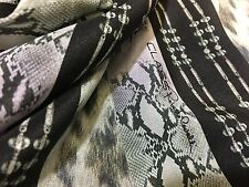 ROBERTO CAVALLI SILK FABRIC, MADE IN ITALY CM 200 x 145