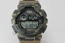 CASIO G-Shock Classic Series Watch Camo GD120CM-5  Water Resistant