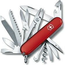 Victorinox Swiss Army Handyman Pocket Knife 53722, 19 Stainless Steel Implements