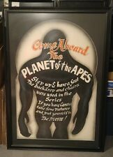 VON DUTCH original hand painted BRUCKER'S MOVIE WORLD large PLANET OF THE APES