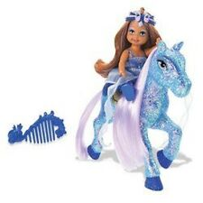 Barbie – The Diamond Castle – Kelly and Pony- Blue – Made by Mattel in 2008