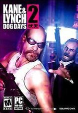 KANE & LYNCH 2: DOG DAYS (2010) PC CD-ROM NEW & FACTORY SEALED