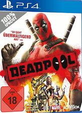 Playstation 4 Spiel: Deadpool PS-4 Neu & OVP