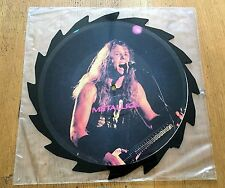 METALLICA Limited Edition Interview Shaped Picture Disc  - Vinyl