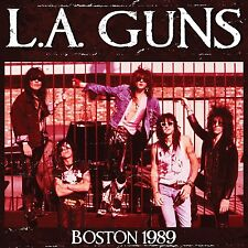 L A Guns - Boston 1989   Limited Edition Red  Vinyl LP  New & Sealed