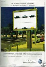 Publicité advertising 2002 VW Volkswagen New Beetle coccinelle