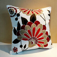 Vitality New Home Decor Cotton Linen Square Throw Sofa Pillow Case Cushion Cover