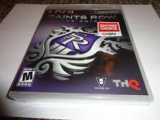 Saints Row: The Third  (Sony Playstation 3, 2011) new ps3 black label