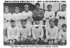 DONCASTER ROVERS TEAM PRINT 1966 (DIV 4 CHAMPIONS)