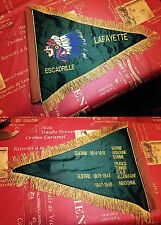 FANION souvenir brodé ESCADRILLE LAFAYETTE Flagge Choose flag EN STOCK