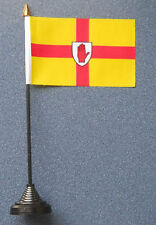 Ulster Desk Table Top Flag