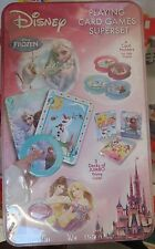 DISNEY FROZEN & PRINCESS PLAYING CARD GAMES SUPERSET- BRAND NEW/SEALED