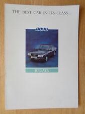 FIAT REGATA orig 1987 UK Mkt Competitor Comparison brochure