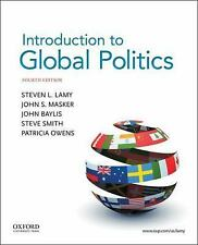 NEW Introduction to Global Politics by Steve Lamy Paperback Book (English) Free