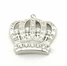 King Crown Iced Out  CZ Metal Fashion Belt Buckle