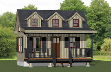 20x10 Tiny House -- 281 sq ft -- PDF Floor Plan -- Model 2A