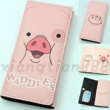 Anime Gravity Falls Waddles Wallet Purse Layers Holder Long Rectangle Button Hot