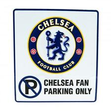 Chelsea Fc No Parking Sign Fan Only Sign Street Driveway Garage Signage Football