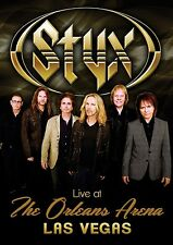 STYX New Sealed 2016 LIVE CONCERT IN LAS VEGAS & MORE DVD