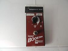 SEYMOUR DUNCAN PICKUP BOOSTER EFFECTS PEDAL BOOST OVERDRIVE GAIN FREE USA SHIP