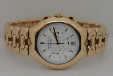 Men's Tiffany & Co. Tesoro Chronograph Quartz 18K Solid Yellow Gold 37mm Watch