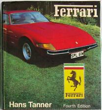 FERRARI (FOURTH EDITION) HANS TANNER ISBN:0854291350 CAR BOOK