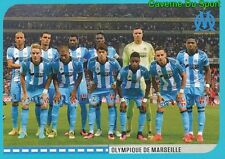 382 EQUIPE TEAM OLYMPIQUE MARSEILLE STICKER FOOT 2017 PANINI