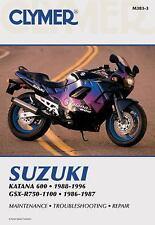 Suzuki GSX-R750-1100 86-96 (Clymer Motorcycle Repair), Penton Staff, Acceptable