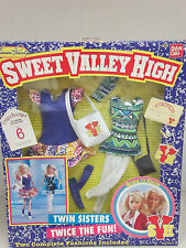 Sweet Valley High -- BORN TO SHOP - 2 Complete Fashions - Barbie Size - New