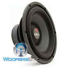 "FOCAL 27V1 11"" (FITS 10"" ENCLOSURES) 500W POLYGLASS V1 CAR AUDIO SUBWOOFER NEW"