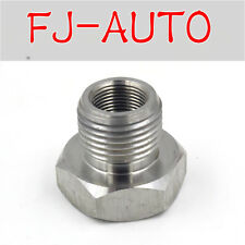 Stainless Steel 1/2-28 To 3/4-16 Oil Filter Adapter Screw for Connection