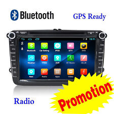 8'' 2Din Car Stereo DVD Player Android 4.4 Autoradio Canbus Head Unit GPS For VW