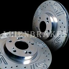 HON015SL Civic Si 06-15 Custom Logo Si Set Front and Rear Rotors