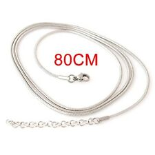 "Snap-It Stainless Steel 31"" w/3"" Extender Chain For Snap It Pendants"