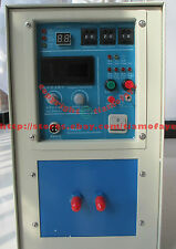 15KW 30-100KHz HIGH Frequency Induction Heater Heating Melting Furnace System
