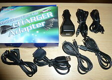 UNIVERSAL CAR CHARGER BRAND NEW! DS Lite DSi 3DS PSP Ipod Micro Mini USB Cables