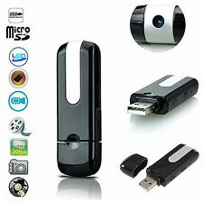 USB Stick Mini Kamera Spy Cam Video Camera HD Bewegungsmelder Cam DVR Camcorder