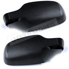 PAIR LEFT RIGHT SIDE DOOR WING MIRROR COVERS CAPS CASE RENAULT CLIO MK3 2006- 09