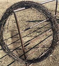 Barbed wire Rusty Old Decorate Vintage Antique Wreath Bob 10 Ft Piece Of History